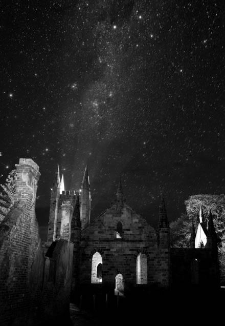 Tasmania: Port Arthur at night What a magical photo!