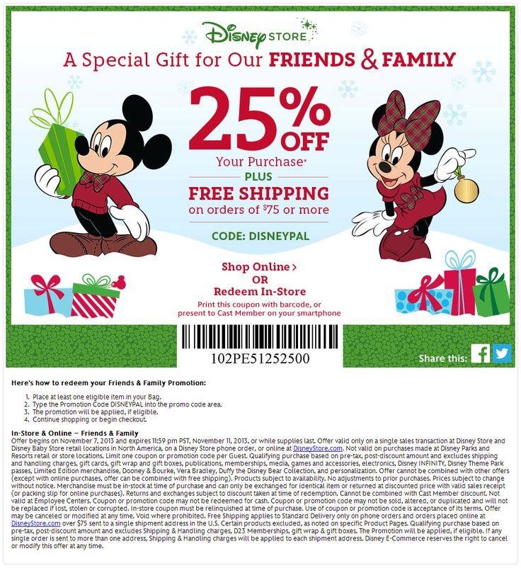 Www disneystore com coupons