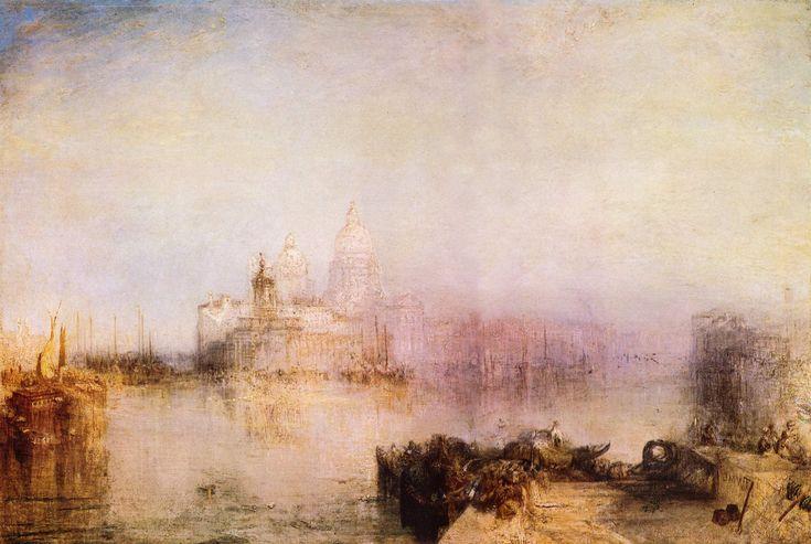 Joseph Mallord William Turner - Dogana und Santa Maria della Salute, Venedig (1843)