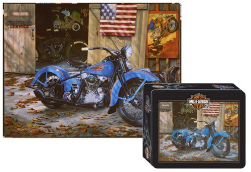 Harley Davidson Puzzles - At Your Service  http://jigsawpuzzlesforadults.com/harley-davidson-puzzles/