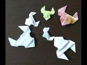 Веселая прыгающая лягушка из бумаги техника оригами!!!