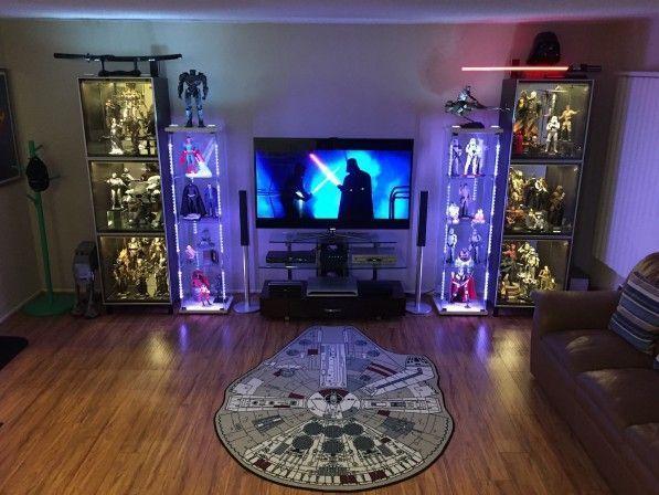 Nerd Room 3 Star Wars Living Room Nerd Room Geek Room