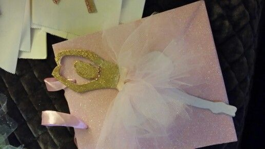 Ballerina party bags by flora