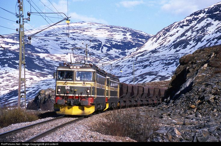 RailPictures.Net Photo: 2194 MTAB EL15 at Vassijaure, Sweden by phil cotterill