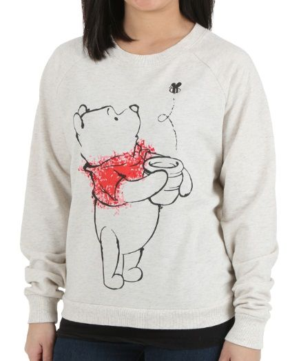 Womens Winnie The Pooh Honey Pot Pooh Pullover
