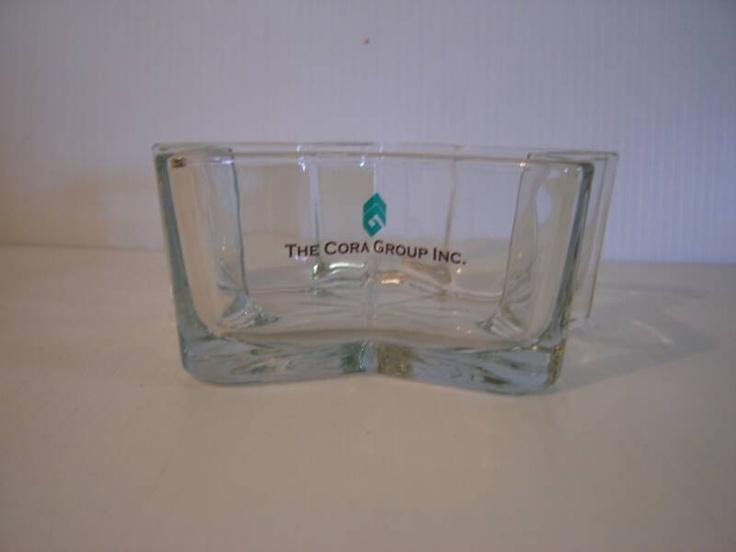 Clear vinyl on glass