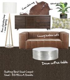 lounge mood board