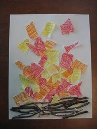 Campfire Craft- Great for toddlers and preschoolers