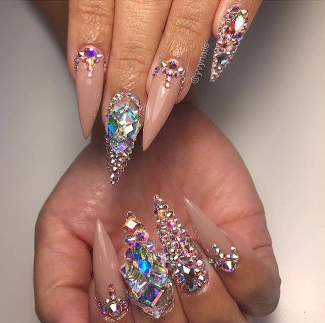 Pιnтereѕт Sara Legito N A I L S In 2018 Pinterest Nails Nail Art And Stiletto