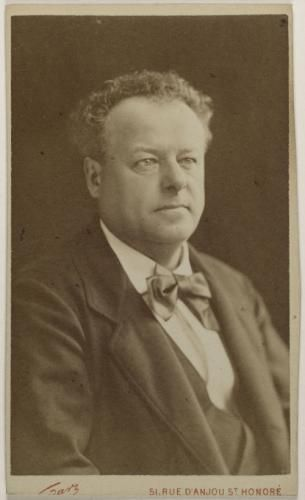 Portrait De Berthelier Jean Franois Philibert 1830 1888 Acteur Chanteur