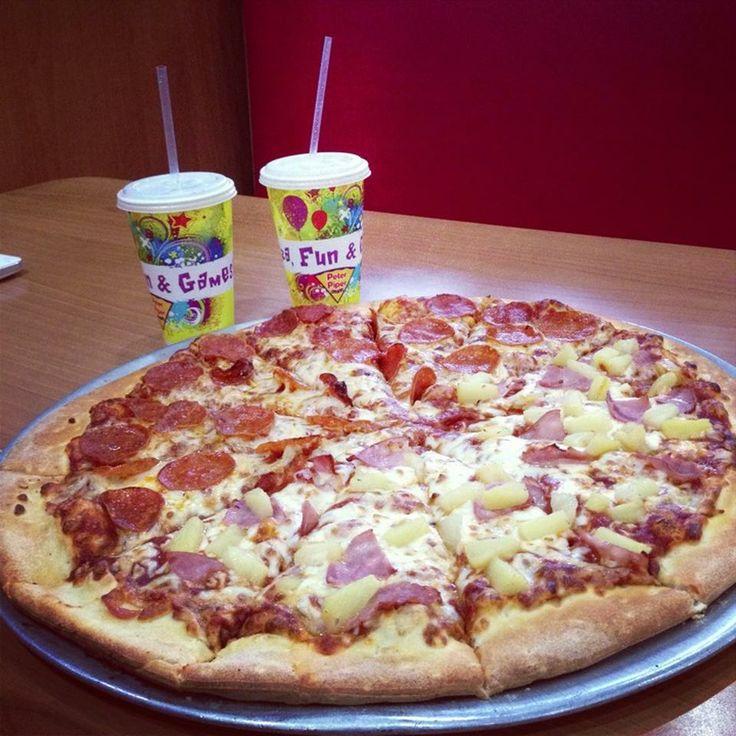 Peter Piper Pizza -- Pizzería y Restaurante americano