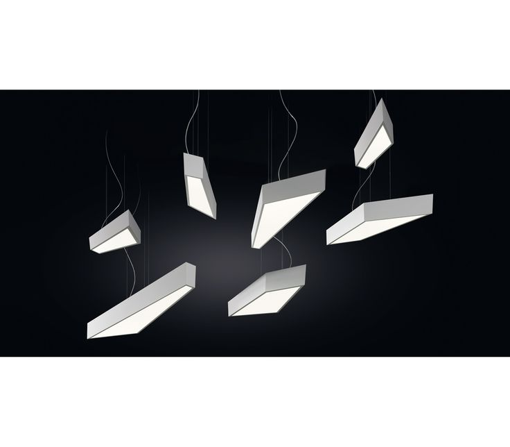 Shatter is a collection of ceiling lamps pendants and wall lights that are a visual succession of elegant volumes which look bright fragments generated by