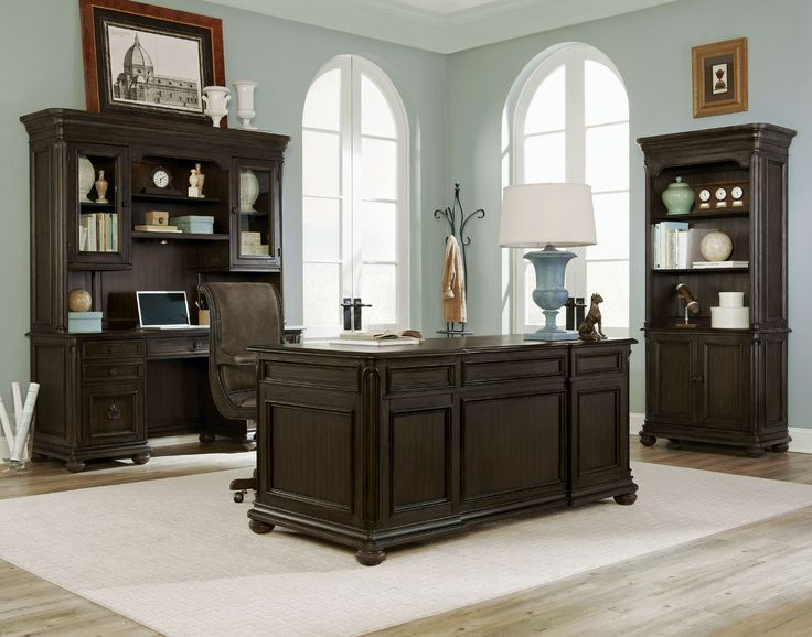 Broughton Hall Executive Desk | Magnussen | Home Gallery Stores