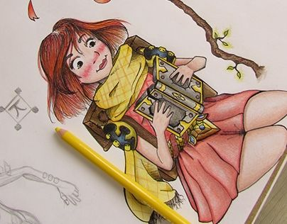 """Check out new work on my @Behance portfolio: """"Sketchbook 2015 - 2016"""" http://be.net/gallery/41502079/Sketchbook-2015-2016"""