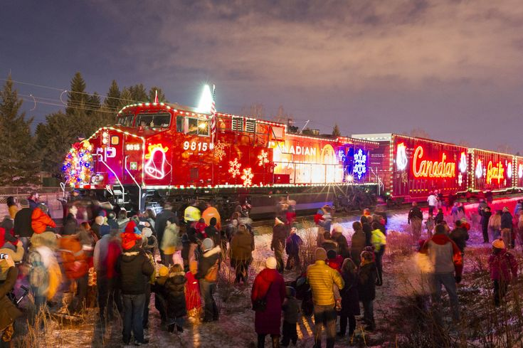 Canadian Pacific Railway Holiday Trains, 2014