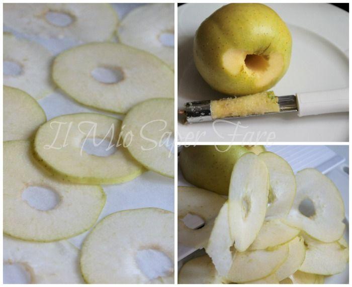 Chips mele microonde veloci e croccantissime ricetta il mio saper fare