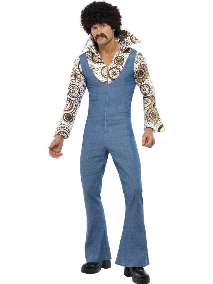Mister Groovy. Mister Groovyn naamiaisasu vie sinut suoraan 70-luvun tanssilattialle ja funk-musiikin rytmeihin.