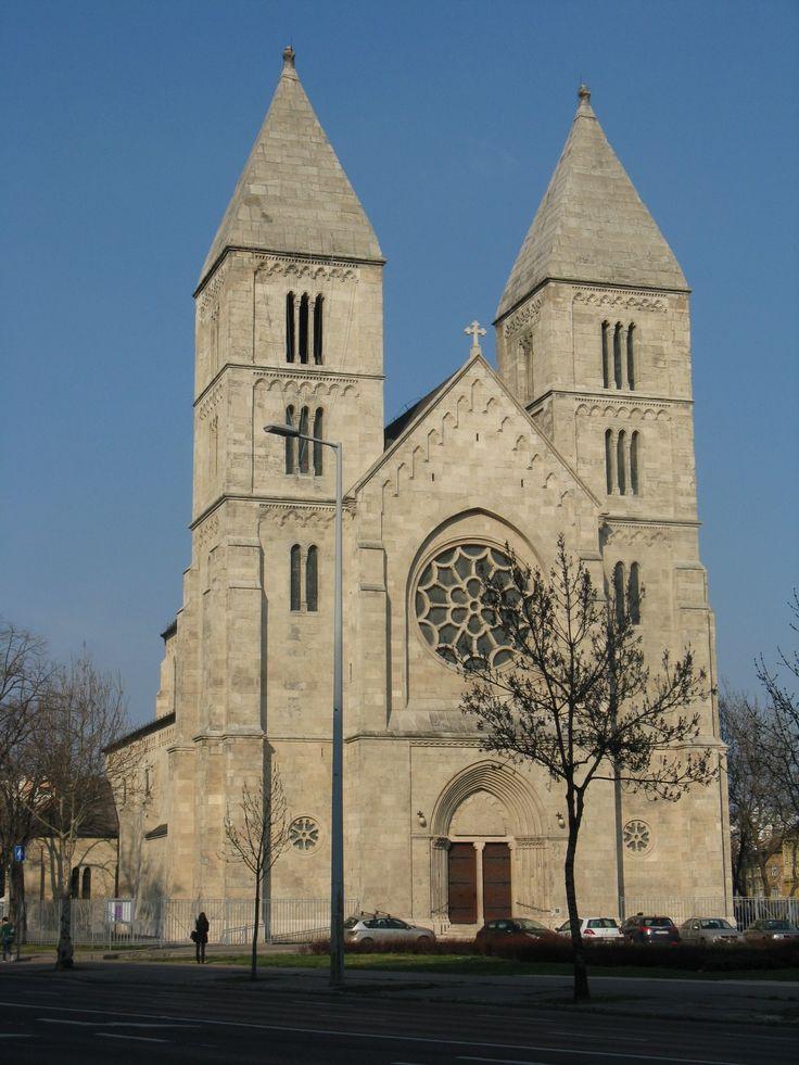 Árpád-házi Szent-Margit templom, Budapest