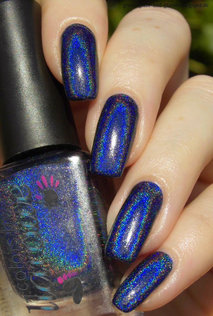 Green, Glaze & Glasses: Lacke in Farbe... und bunt! - Marineblau & Blue Friday (Colors by Llarowe - In The Navy)