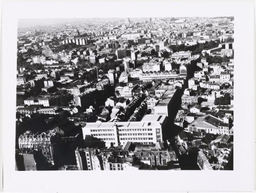 Vue aérienne de Paris : l'école Normale supérieure des télécommunications, 13ème arrondissement, Paris. | Paris Musées