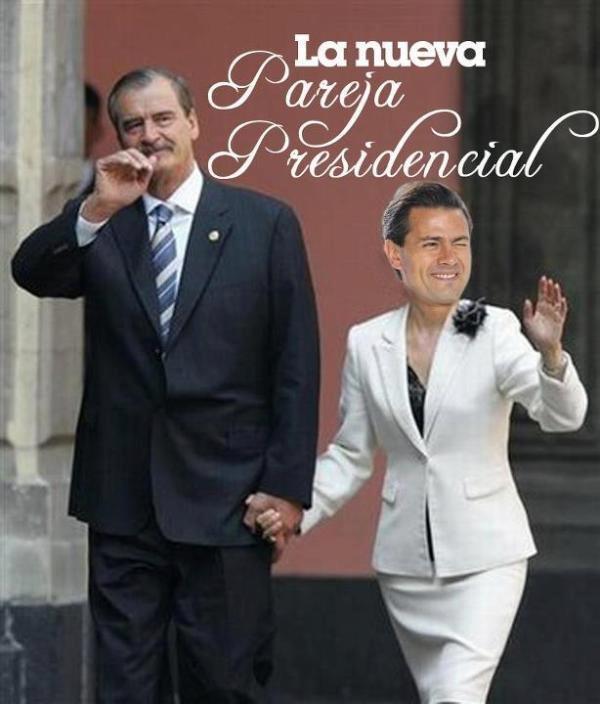Pareja presidencial 2012