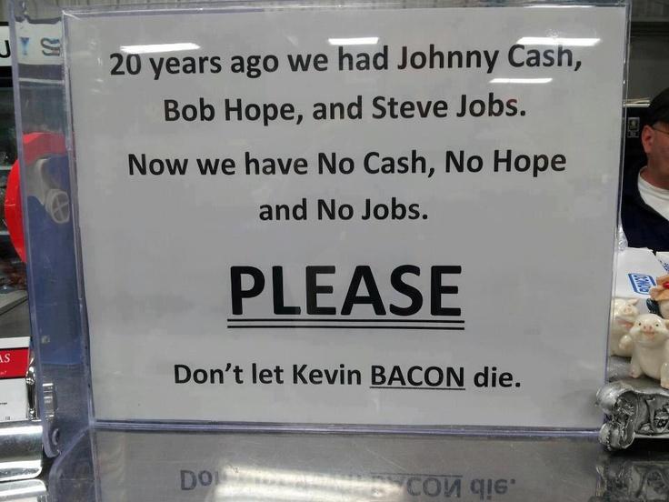 Toglieteci tutto ma non il bacon!