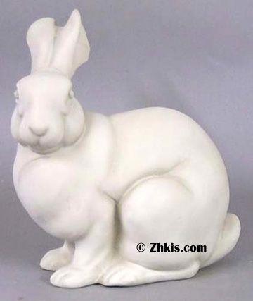 Bunny Rabbit Garden Statue