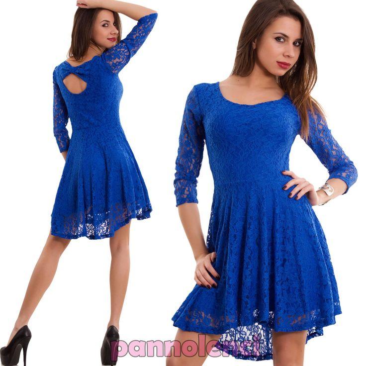 Vestito blu elettrico h&m 5 basic demands