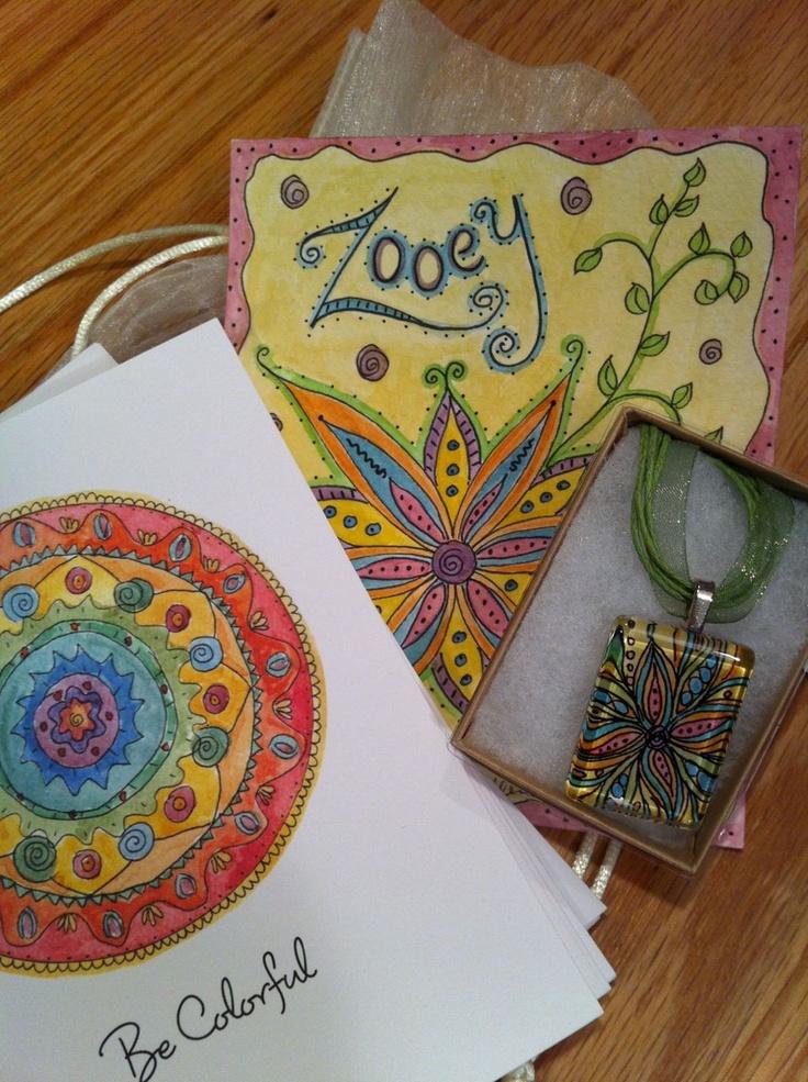 Gift for Zooey Dechannel by Ilene Price Design