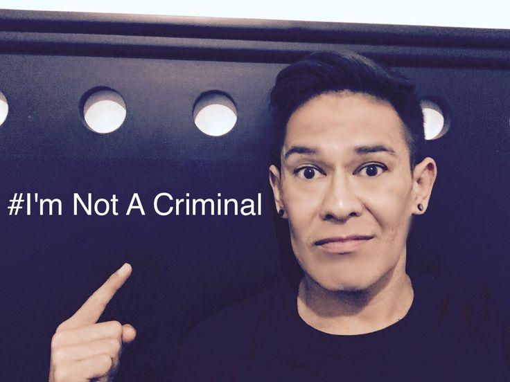 I'm not a criminal. Mr. Donald Tromp