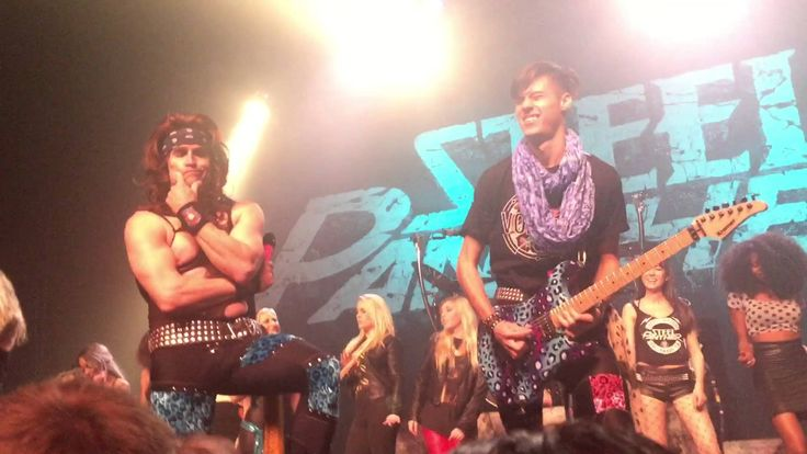 Fan(ME) plays with Steel Panther at The Fonda Theater!!!
