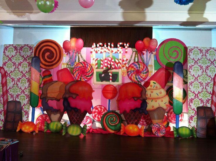 decorar una fiesta de cumpleaos inspirada en el clsico juego candy land dar a tu evento