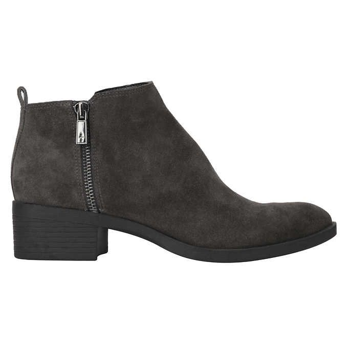 Ladies' Suede Boot, Gray