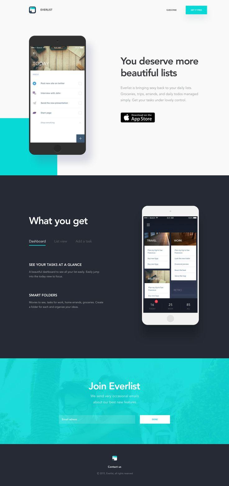 Everlist app presentation