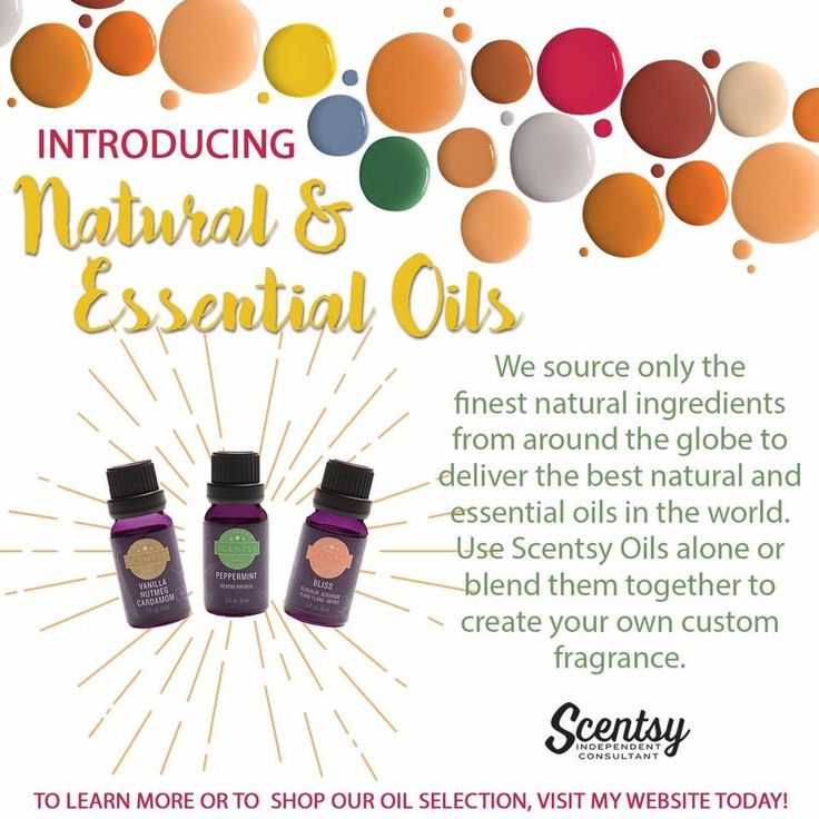 Scentsy has oils! www.shallscents.scentsy.us