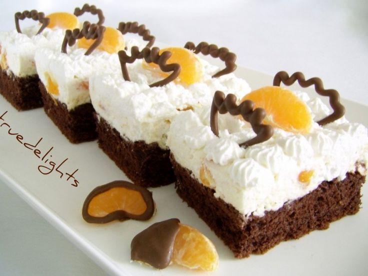 Prajitura cu crema de branza si mandarine - Culinar.ro