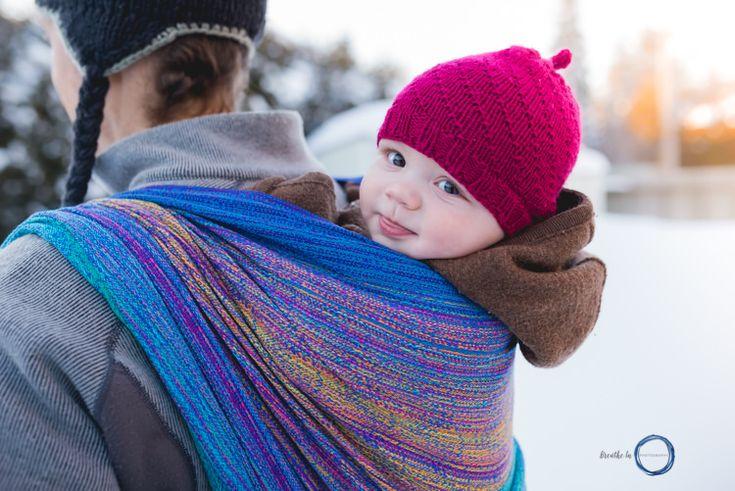 Va Va Valoom Handwoven Ottawa Babywearing Photography Session.