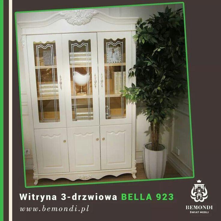 Do salonu, biura, jadalni. Wszędzie tam, gdzie w wykwintny i elegancki sposób chcielibyście coś wyeksponować. Uwaga -  teraz witryna Bella jest dostępna w niższej cenie.  Chcecie poznać ją bliżej? :) Wszystkie szczegółowe informacje znajdują się tutaj: http://www.bemondi.pl/produkt/witryny/witryna-3-drzwiowa-bella-923,758.html