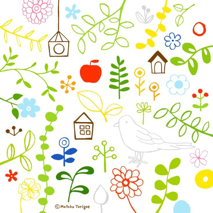 iPad Wallpapers|トリゴエ モトコ壁紙