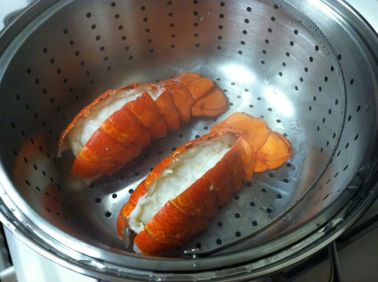 Steamed Lobster Tails (and preparation how-to)