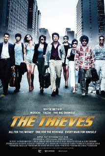 The Thieves (2012) | Feels like something Bollywood's already made, is in the process of making, or will make in the future. Their version will be much more crude, however.