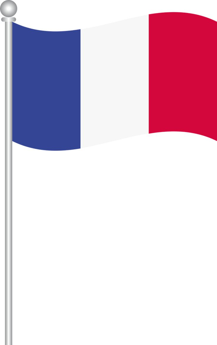 French flag coloring page - Flag Of France World Flags Transparent Image