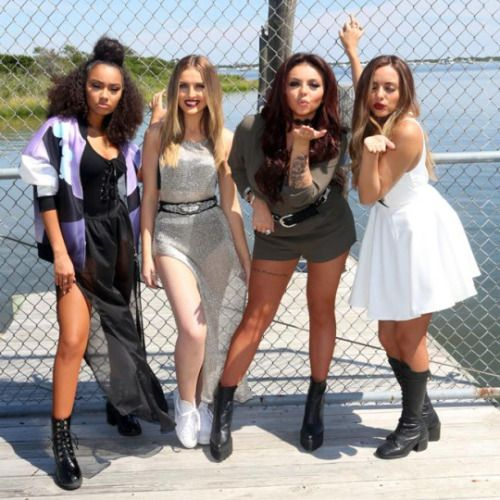 Las integrantes de la banda Little Mix -formada por Perrie Edwards, Leigh-Anne Pinnock, Jesy Nelson y Jade Thirlwall- son como una familia fuera y dentro del estudio según su preparadora de voz Maegan