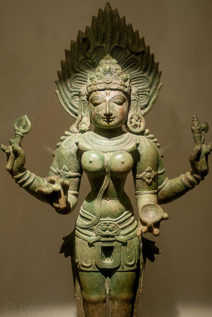 Kali, [Hindu godess] 12th century, Bronze, National Museum of India