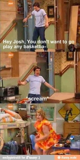 Drake & Josh For shame Josh... for shame XD