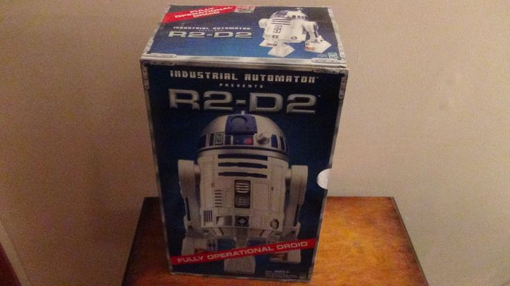 Star Wars E 2 R2D2 Interactive Droid hasbro mint in box first version in Collectibles, Science Fiction & Horror, Star Wars | eBay Sold