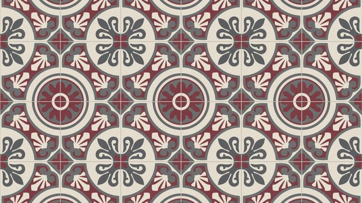 sol vinyle emotion portuguese tile red saint maclou. Black Bedroom Furniture Sets. Home Design Ideas