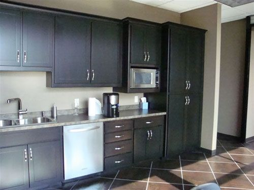 Kitchen cabinets for an office | kitchens | Pinterest