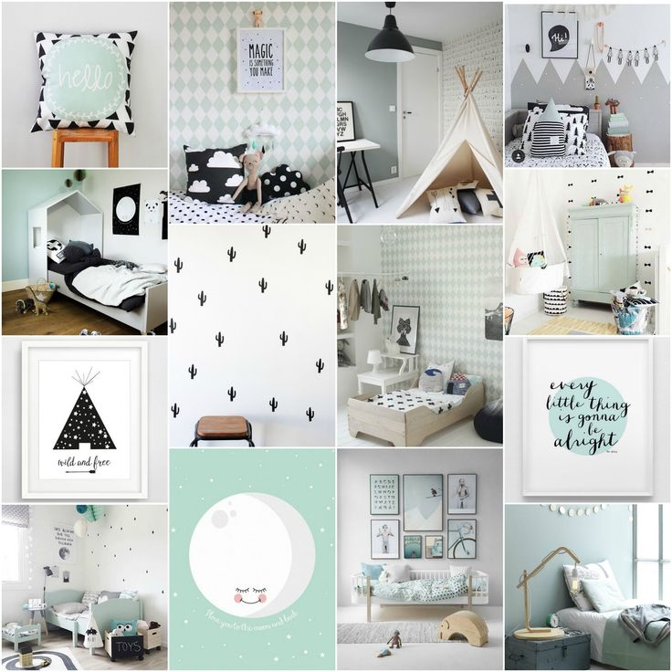 22 best mintgroene babykamer images on pinterest, Deco ideeën