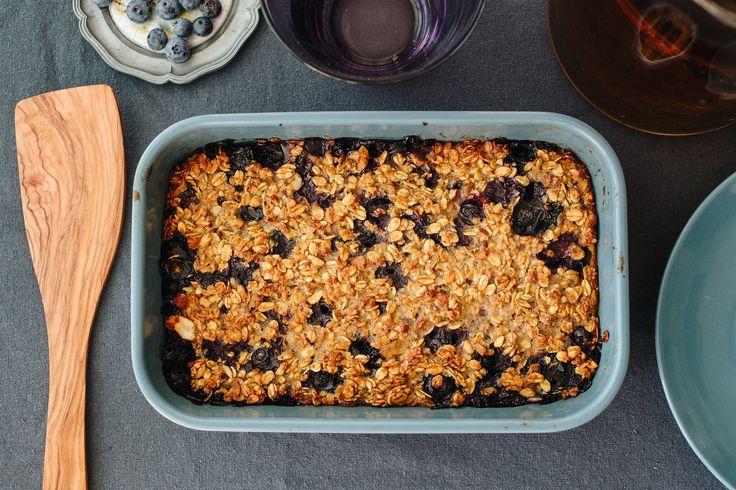 Elronthatatlan sült zabkásás süti körtével és áfonyával: isteni és egészséges